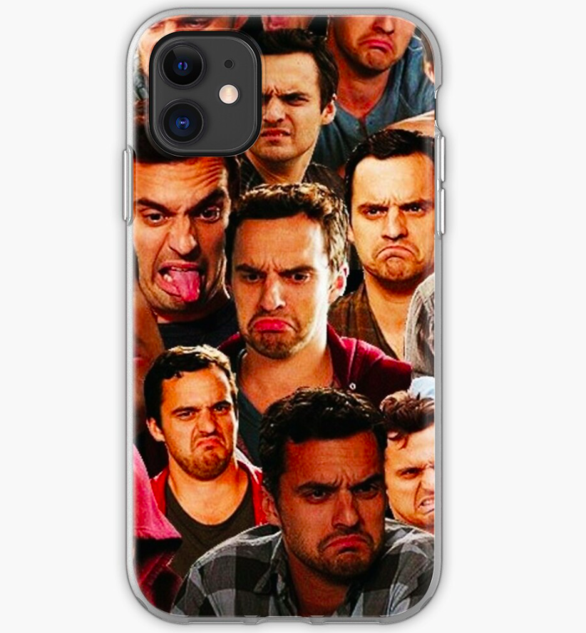 the new girl nick miller collage phone case