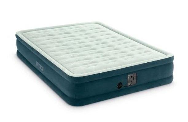 intex air mattress with a built in pump