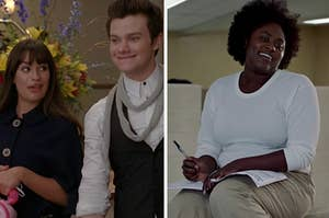 "Rachel and Kurt from ""Glee"" and Taystee from ""Orange is the New Black"""