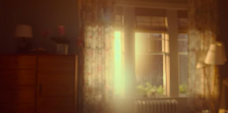 The window in Sloane's bedroom