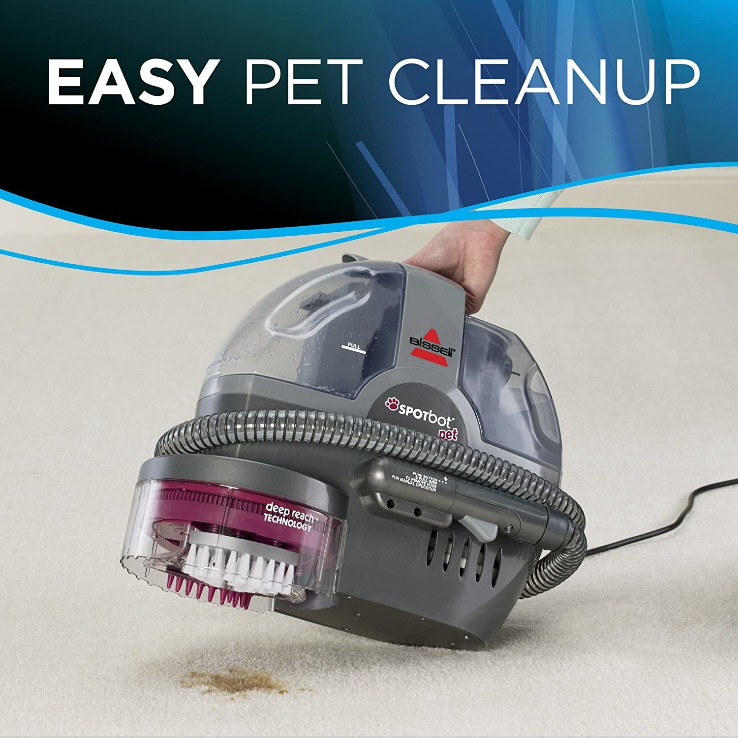 The Bissell Spot Bot Pet Cleaner