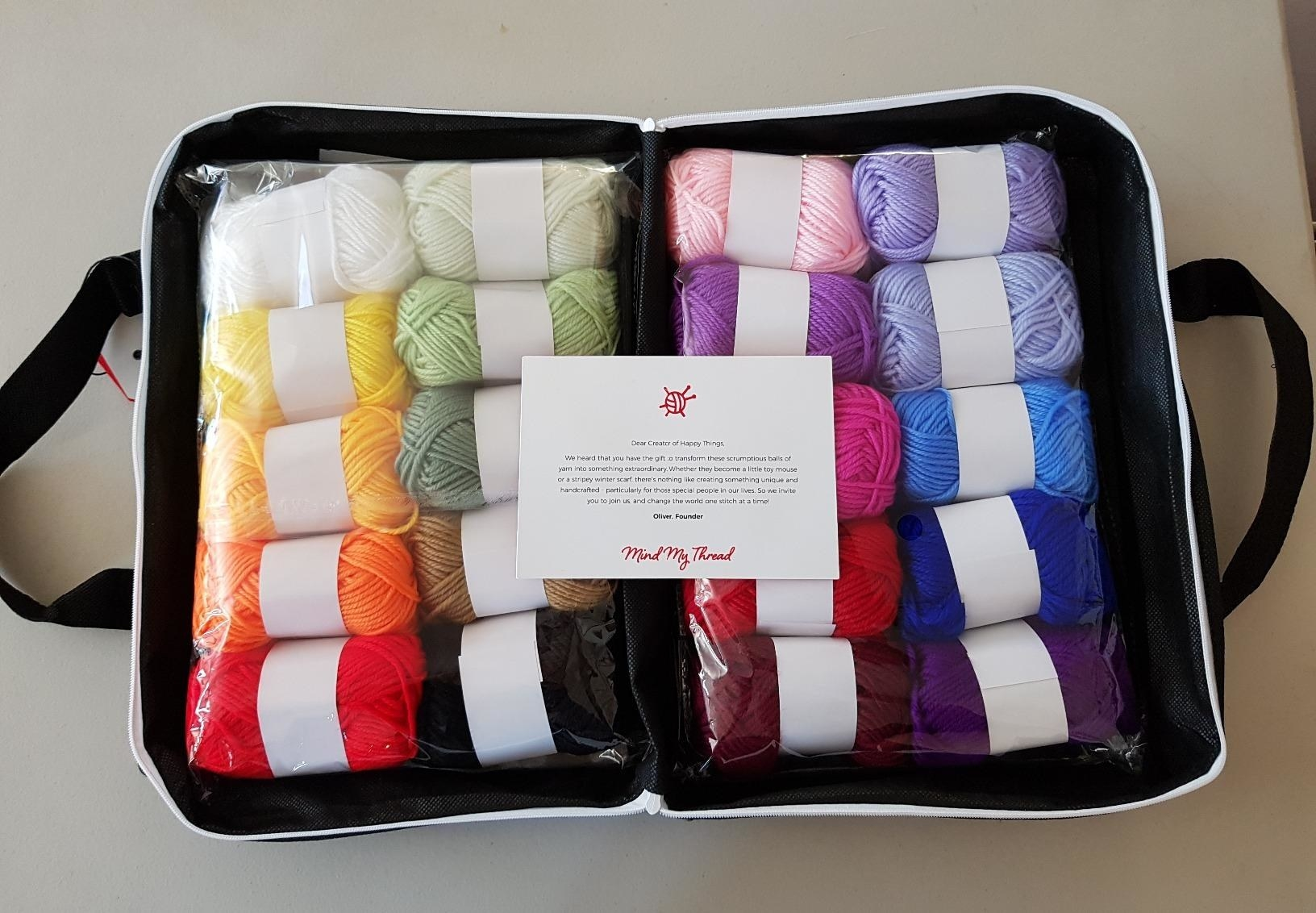 reviewer image of the crochet kit