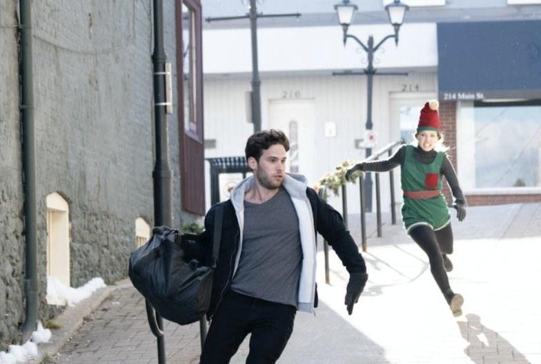 Mackenzie chasing Carson.