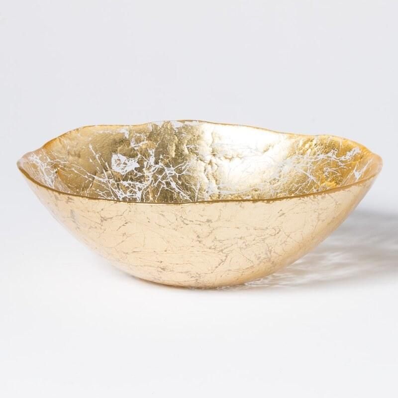 Gold moon bowl