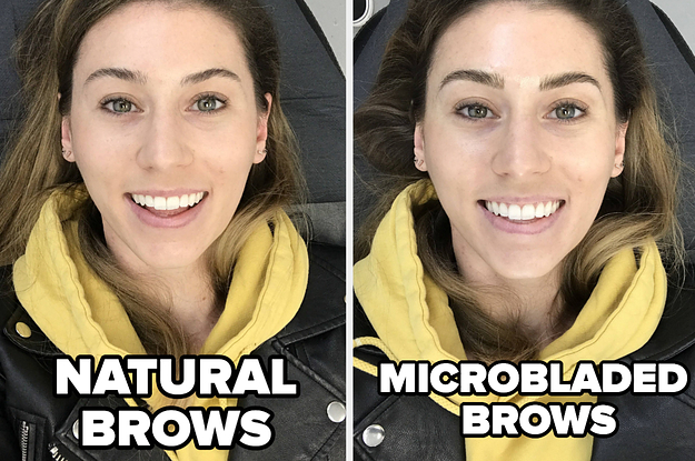 I Got My Brows Microbladed And Here's Everything You Need To Know From Day 1 To Day 30