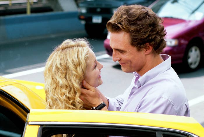 HOW TO LOSE A GUY IN 10 DAYS, Kate Hudson, Matthew McConaughey, 2003.