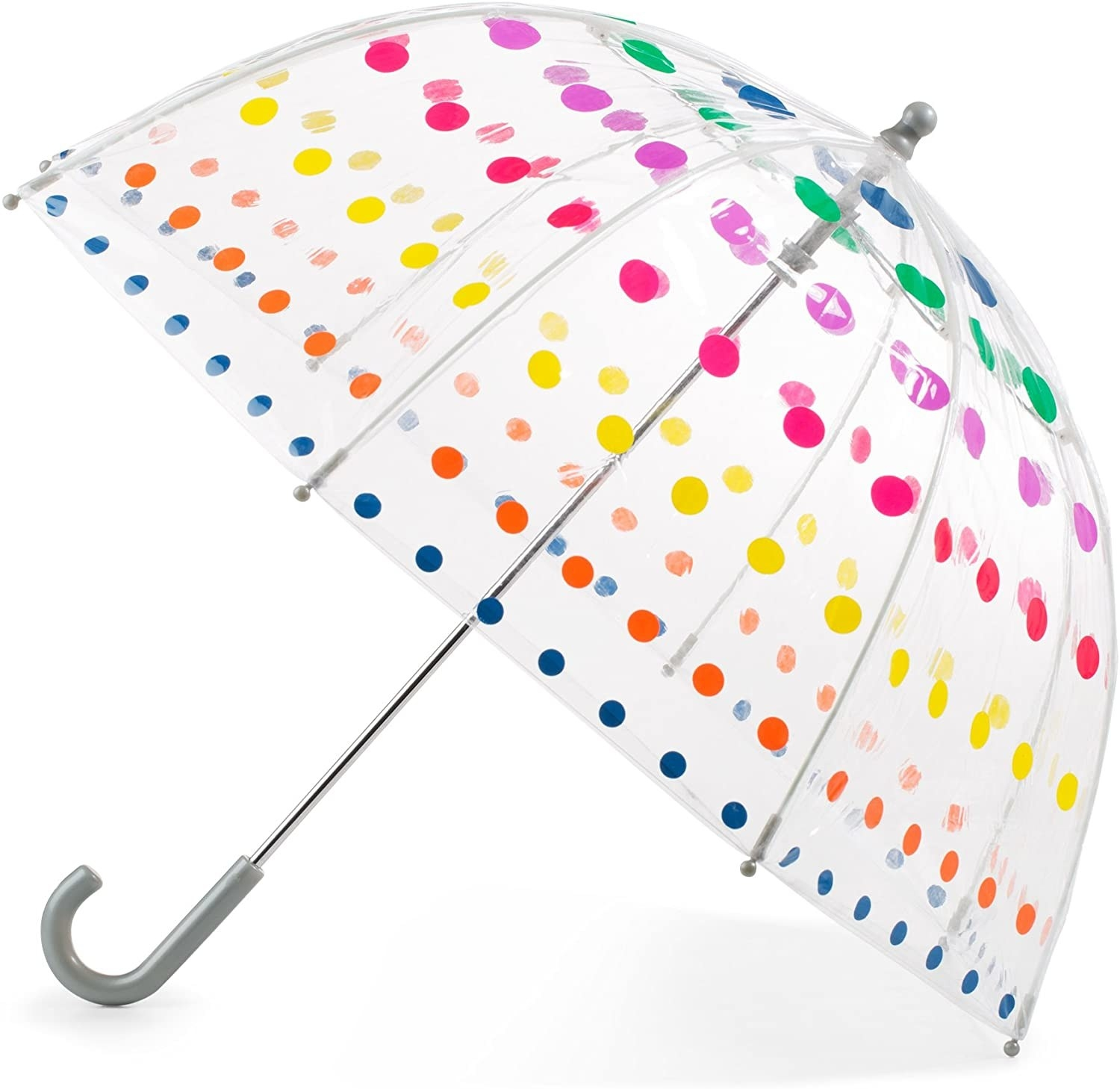 A Totes rainbow-dotted umbrella for kids