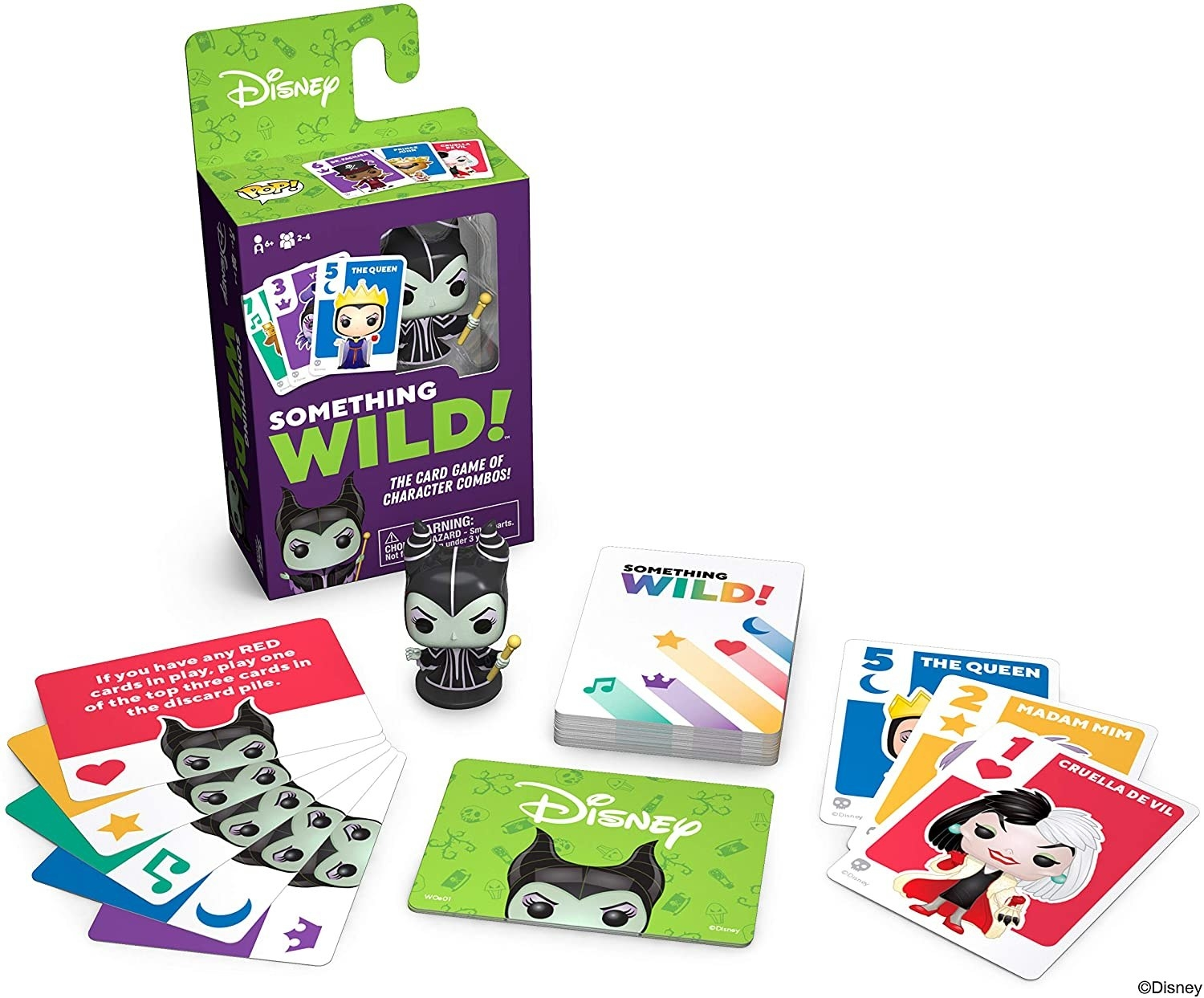 The Maleficent card game