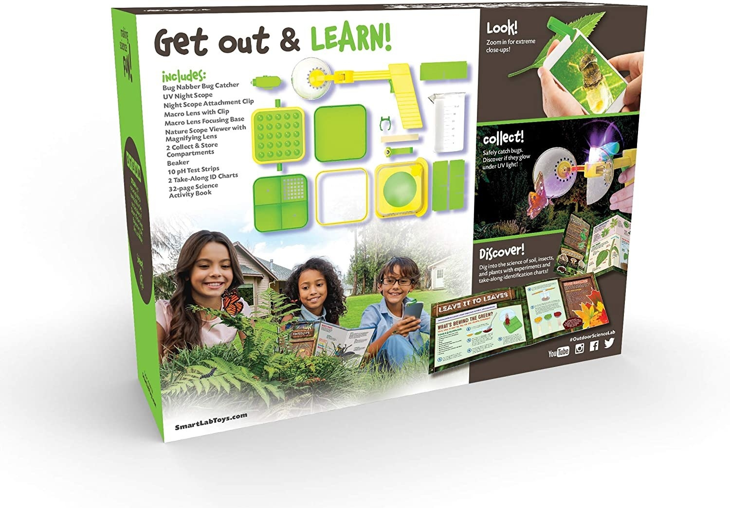 The outdoor science lab box