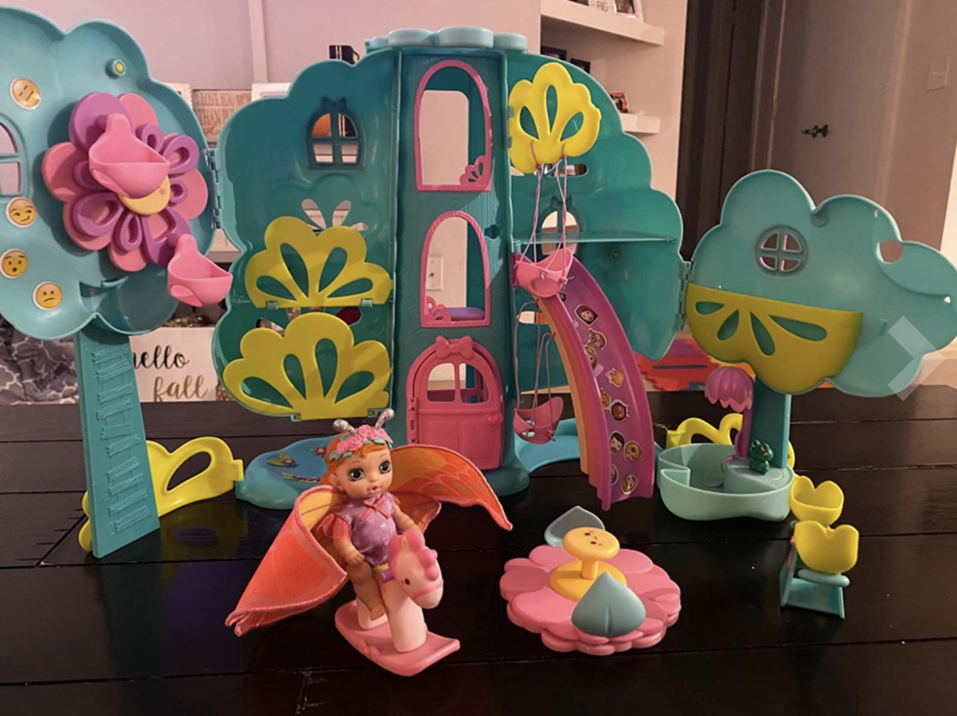 The treehouse playset