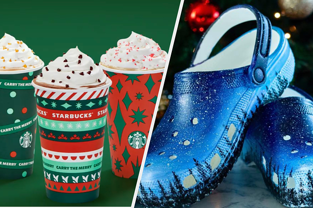 Design A Pair Of Crocs And We'll Reveal Which Starbucks Holiday Drink You Should Order