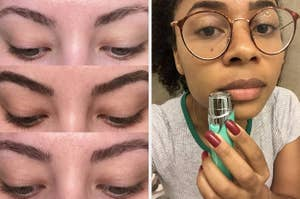 eyebrows and hair remover