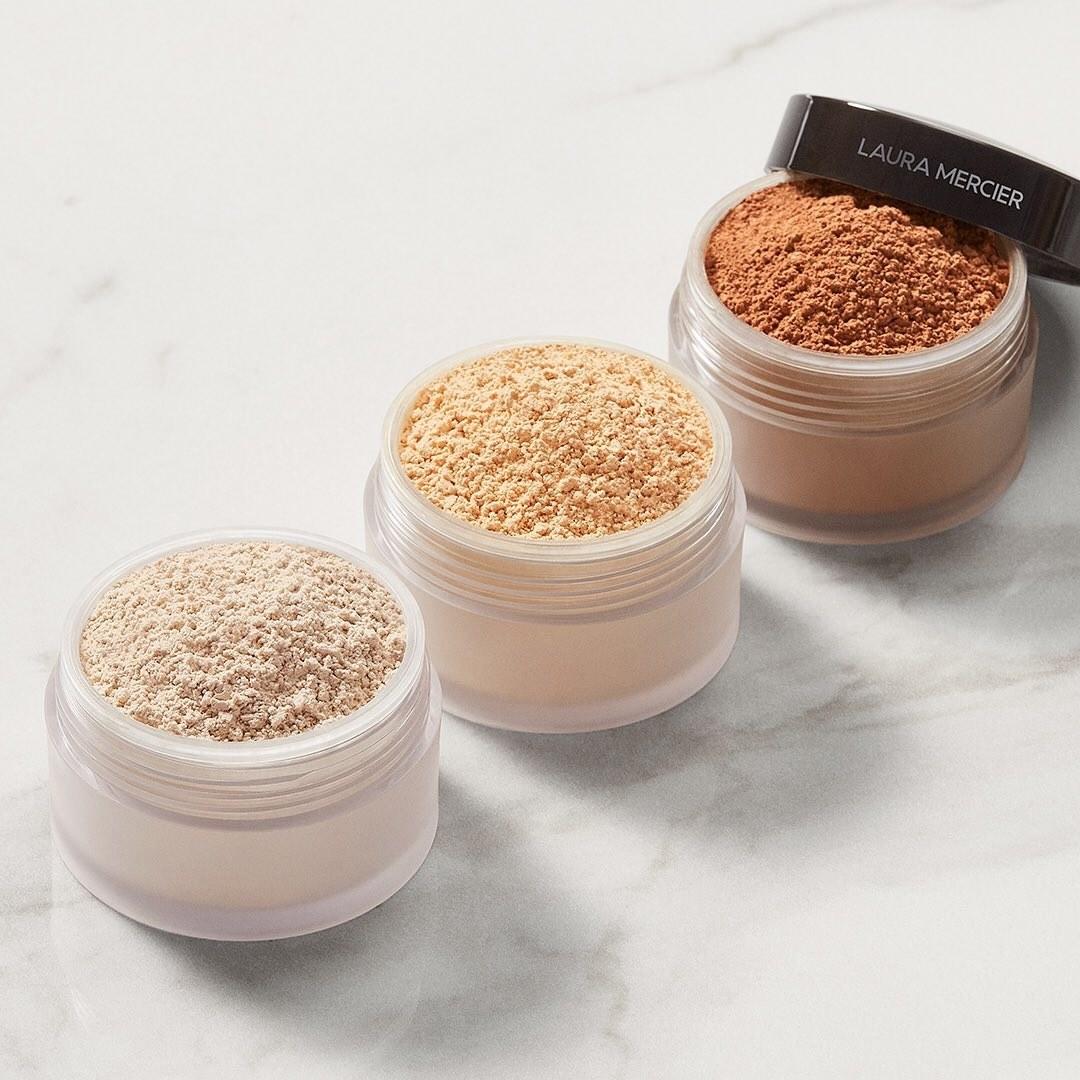 Laura Mercier powder in three shades