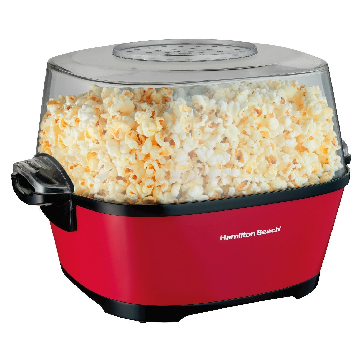 red hamilton beach electric popcorn maker