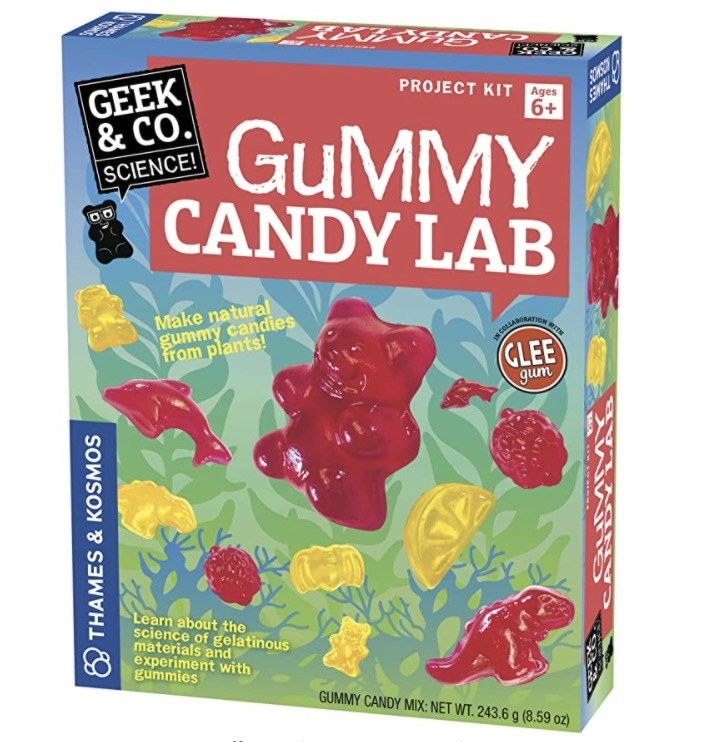 the gummy candy lab packaging