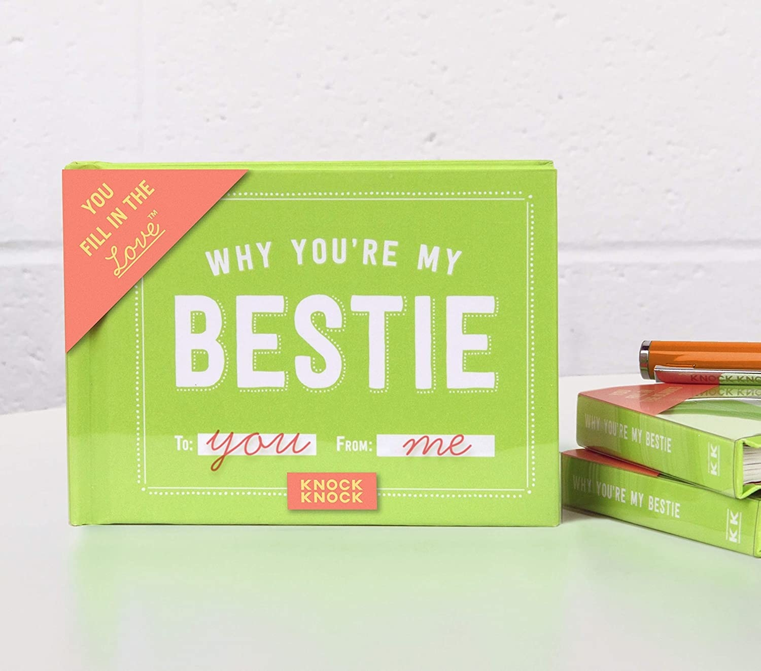 Product shot of Why You're My Bestie book