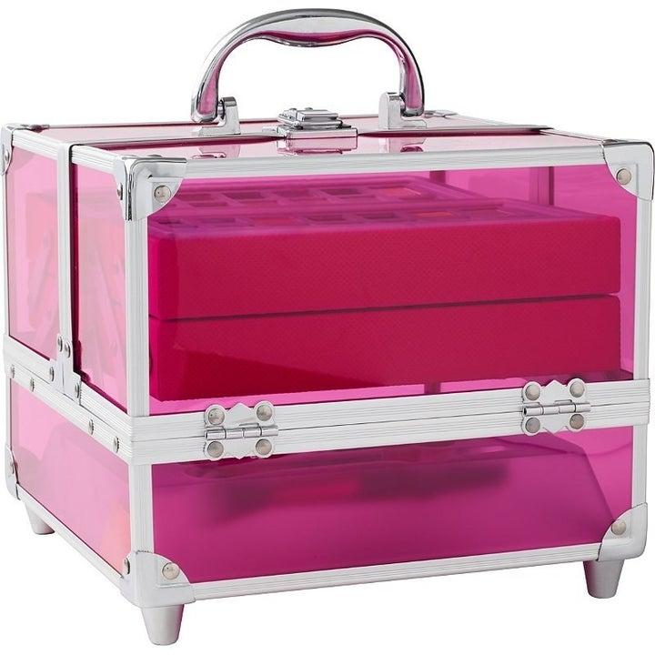 Ulta's Beauty Box: Artist Edition in pink.