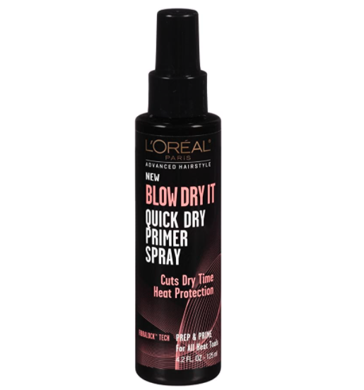 The bottle of blowout primer