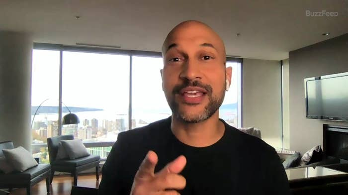 A screenshot of Keegan Michael Key