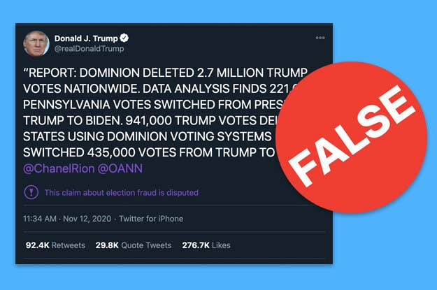 Trump Dominion Voting System Fact-Check