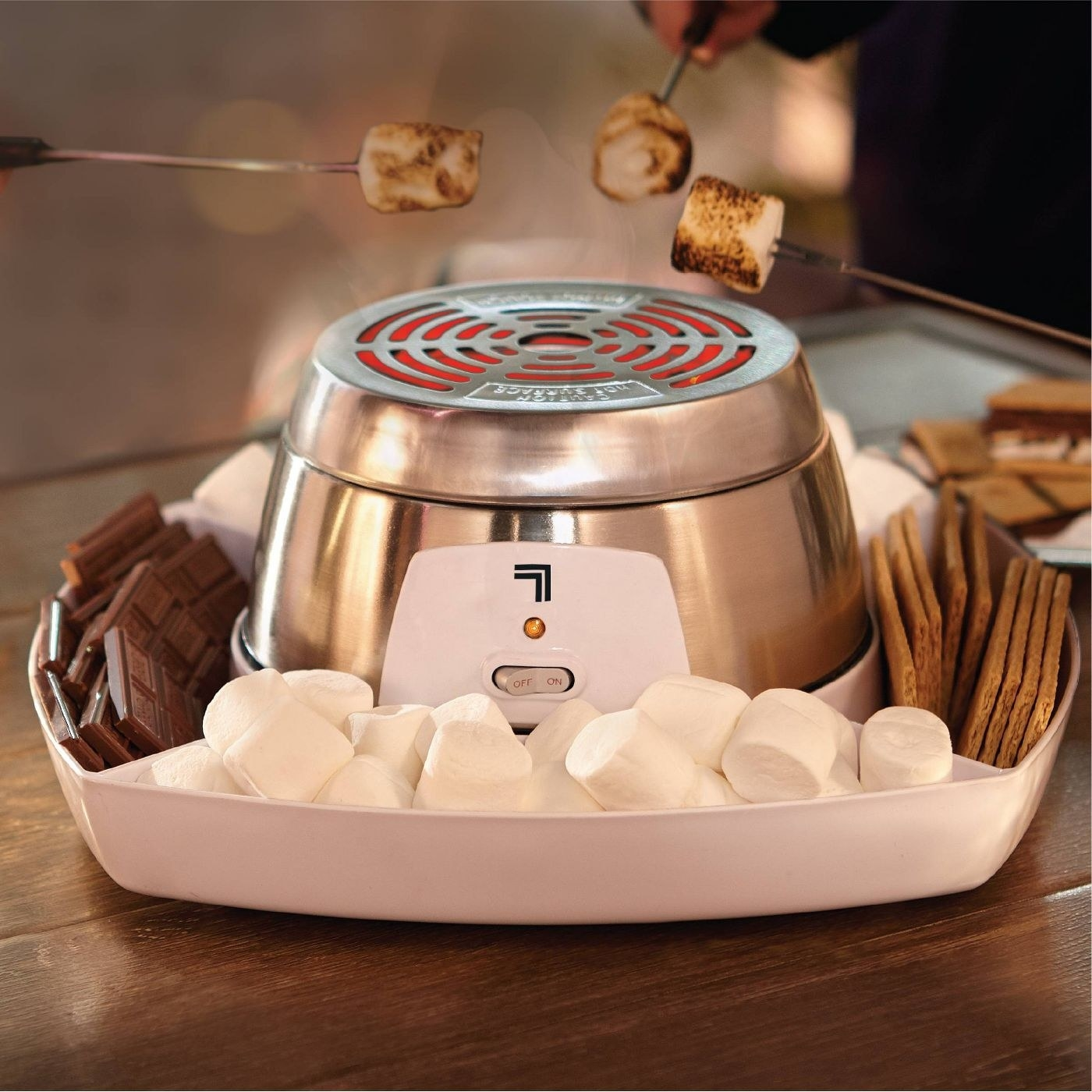The s'mores maker