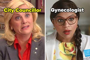 """上面写着""""市政厅和妇产科医生""""字样"""