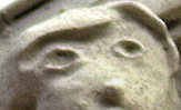 The new face features two ovals that vaguely resemble human eyes