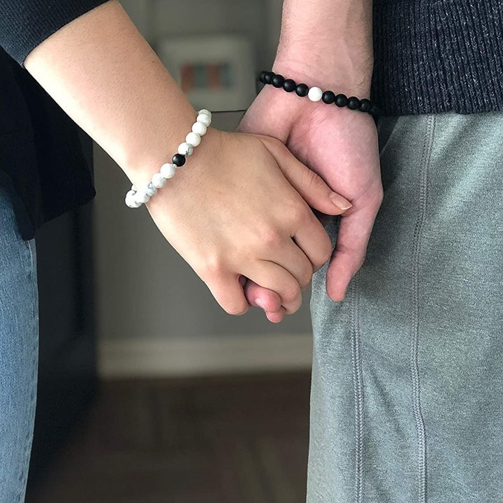 models wearing the bracelet