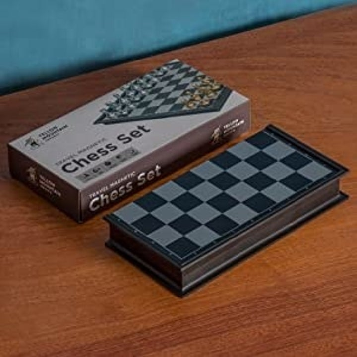 The chess set.