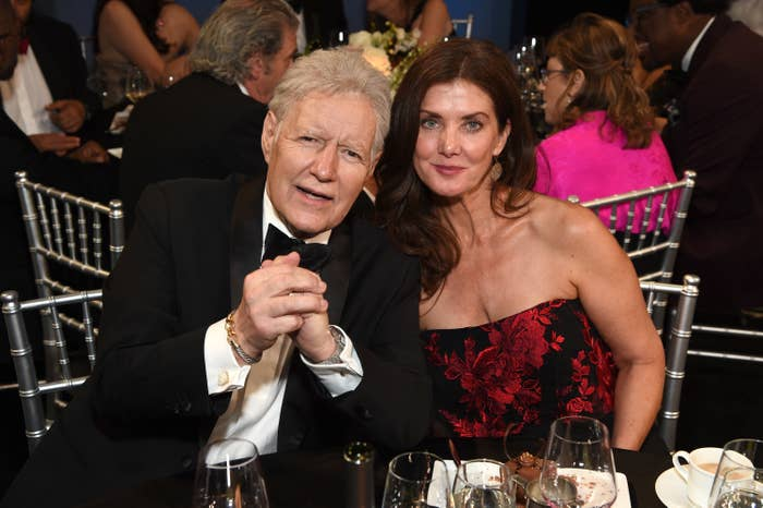 Alex Trebek and Jean Currivan Trebek attend the 47th AFI Life Achievement Award honoring Denzel Washington at Dolby Theatre on June 06, 2019 in Hollywood, California.