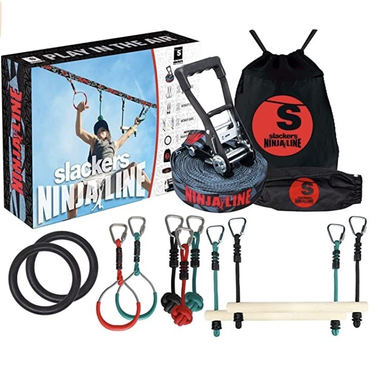 the kit to set up a ninja line at home