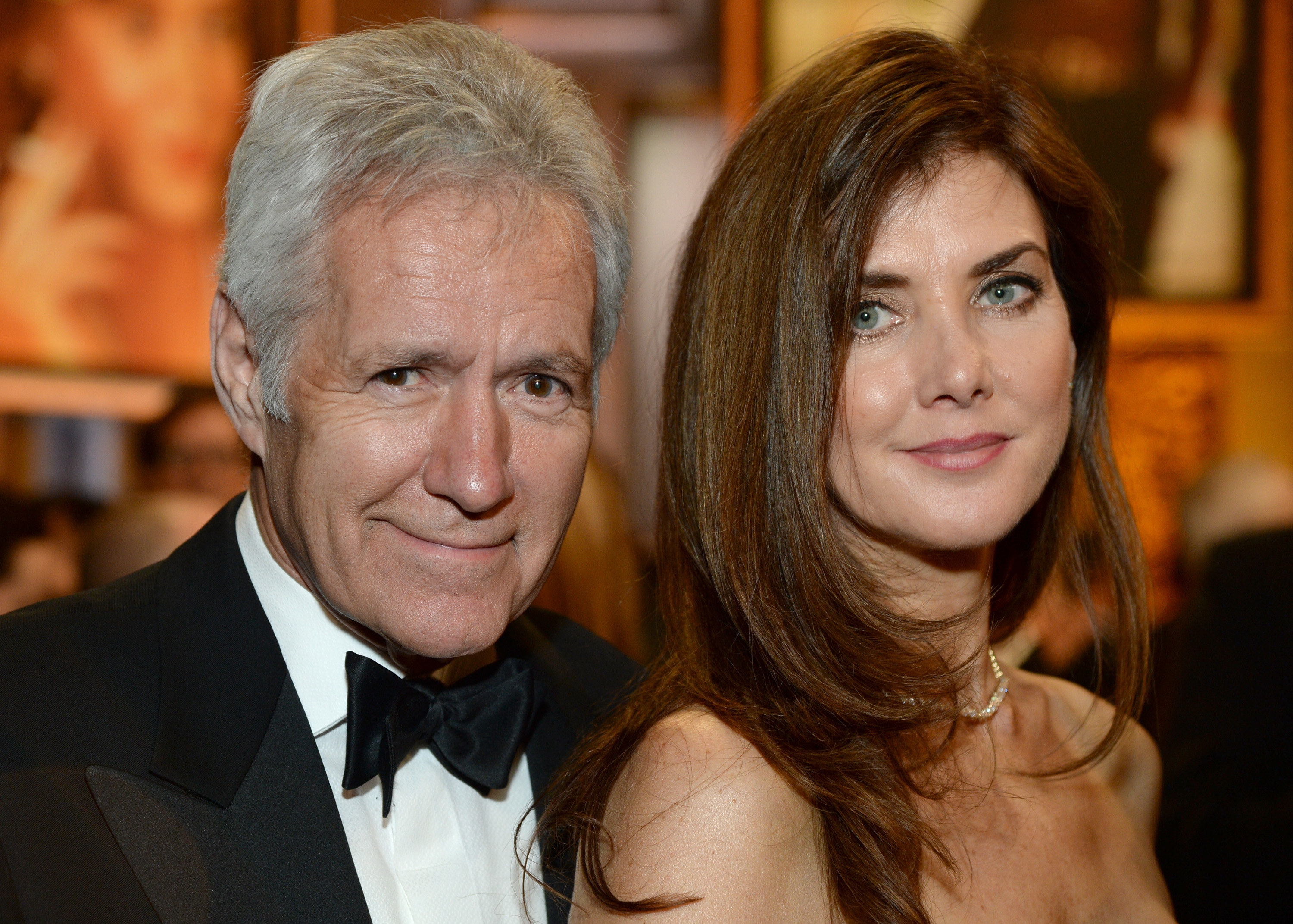 TV personality Alex Trebek (L) and Jean Trebek attend the 2014 AFI Life Achievement Award: A Tribute to Jane Fonda at the Dolby Theatre on June 5, 2014 in Hollywood, California.