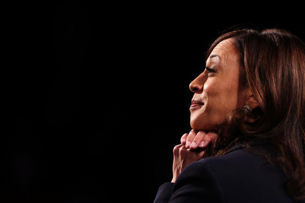 Harris at the 2020 Vice Presidential debate