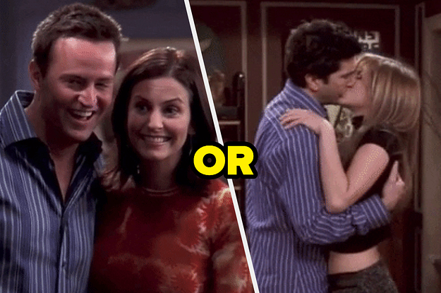 Are You More Like Monica And Chandler Or Ross And Rachel?