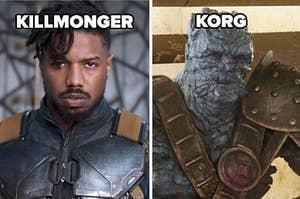 killmonger and korg