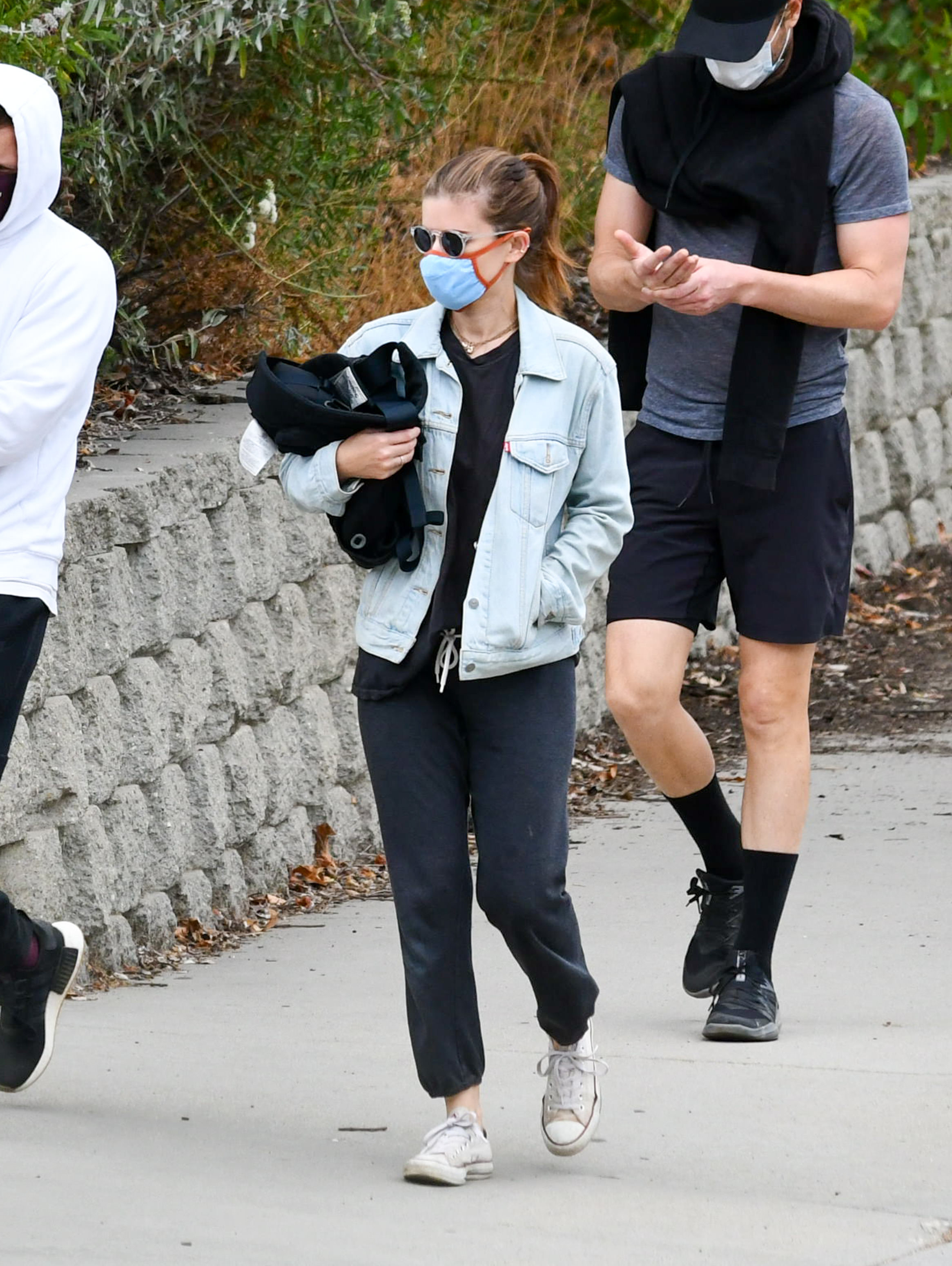 Kate Mara is seen on June 20, 2020 in Los Angeles, California.