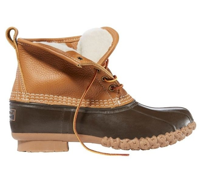 the duck boots
