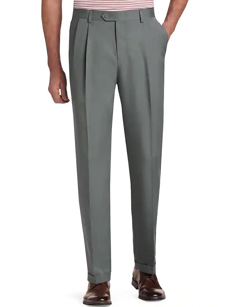 model wears pants