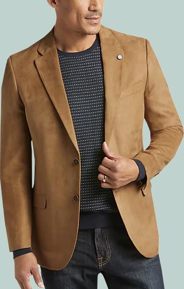 sports coat with flip pockets