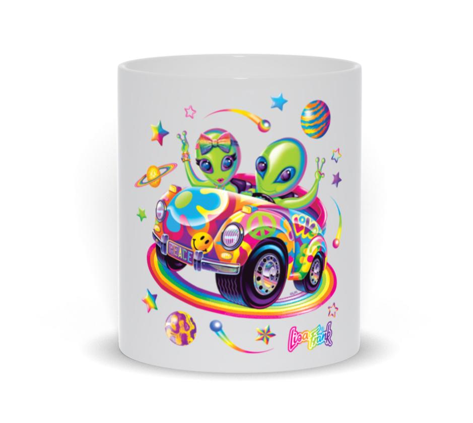 the zoomer and zorbit lisa frank mug