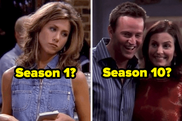 "Only A ""Friends"" Fanatic Can Accurately Guess If These Episodes Are From The First Or Final Season"