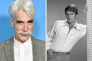 sam elliott now vs then
