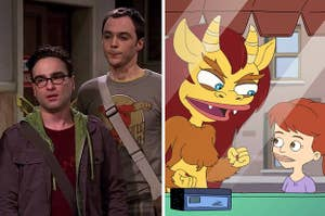 """The Big Bang Theory"" and ""Big Mouth"""