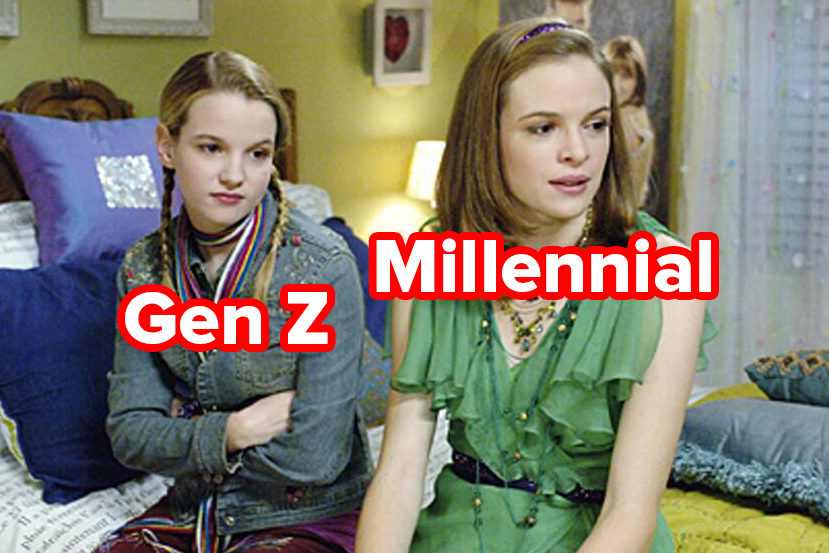 "The stars of ""Read It And Weep"" labeled as Gen Z and Millennial"