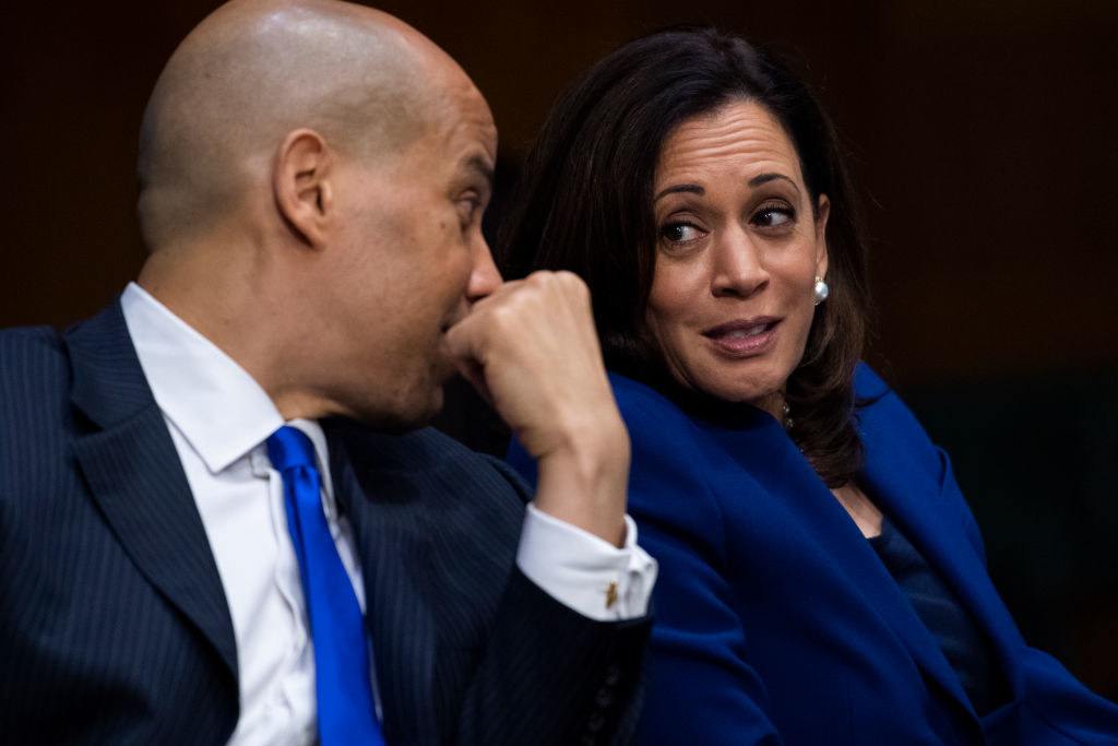 Harris and Cory Booker
