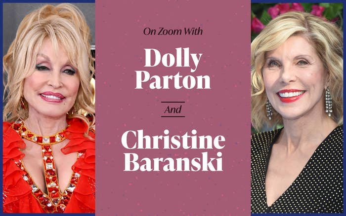 """Header: """"On Zoom with Dolly Parton"""""""