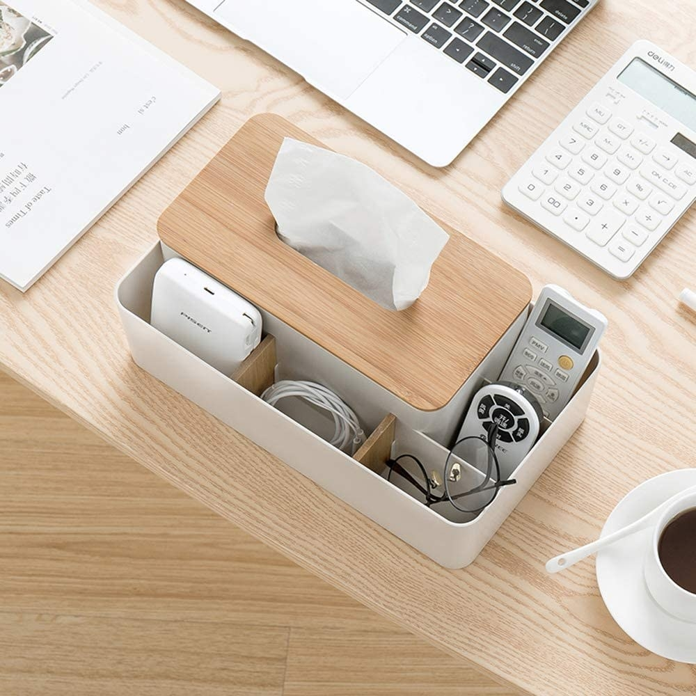 Multifunction tissue box