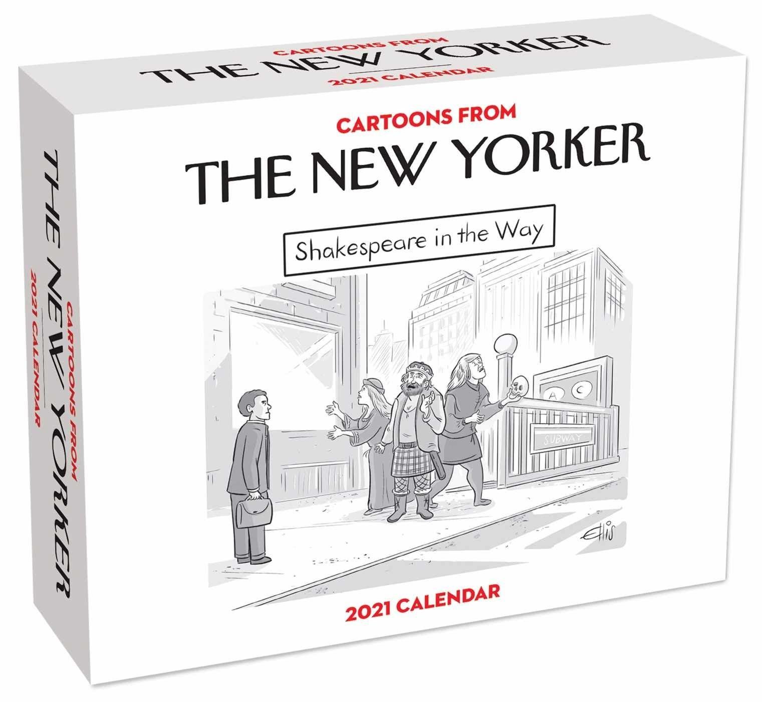 The New Yorker cartoon 2021 calendar