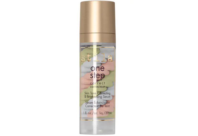 A bottle of the one step corrector