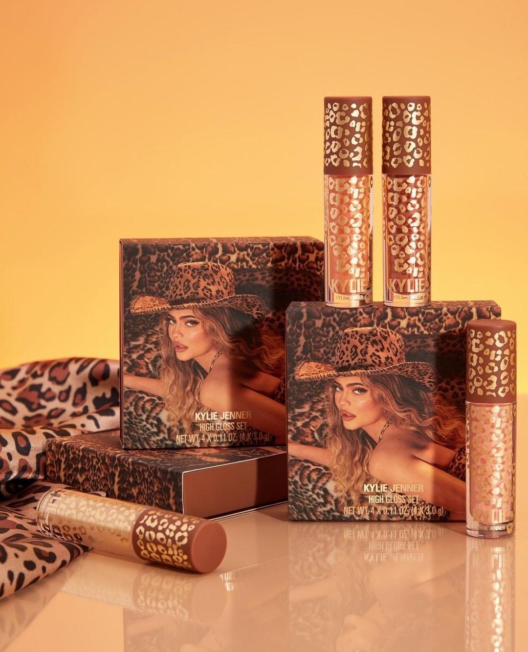 Kylie Cosmetics 4-piece high gloss set
